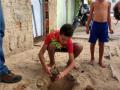 Atividade Arborização. Bairro Cajueiro. Juazeiro-BA. 08/08/2019