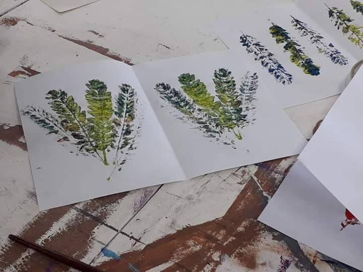 Atividade Arte Ambiental. UNIVASF Campus Juazeiro. Juazeiro-BA. 03/10/2019.