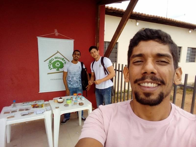 Atividade Plantas Medicinais. UBS do bairro Itaberaba. Juazeiro-BA. 25/03/2019.