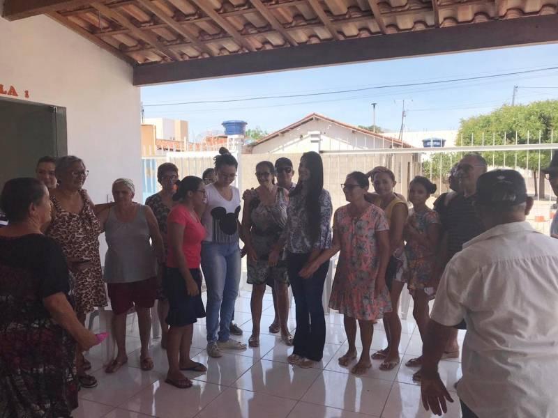 Atividade Plantas Medicinais. Unidade Básica de Saúde - Loteamento Recife. Petrolina-PE. 09/12/2019.