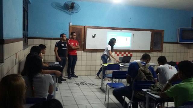 Necessidade das energias renováveis. Escola Rui Barbosa. Juazeiro-BA. 24-11-2016