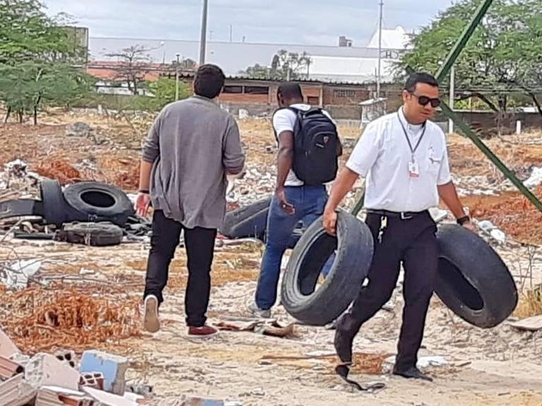 Atividade Reciclagem. Assentamento Terra da Liberdade. Petrolina-PE. 30/08/2019.