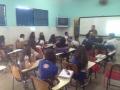 Atividade de arte ambiental - Colegio Estadual Lomanto Júnior - Juazeiro-BA - 26.08.15