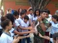 Alunos da Escola Poeta Carlos Drummond de Andrade, realizaram no dia 12.12 visita ao Parque Zoobotânico.