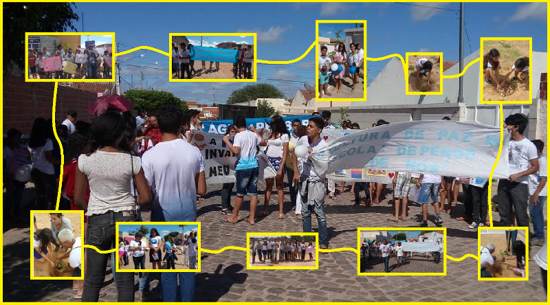 Arborizacao e passeata - Escola Pe. Luiz Cassiano - Petrolina-PE - 01.08 (45)