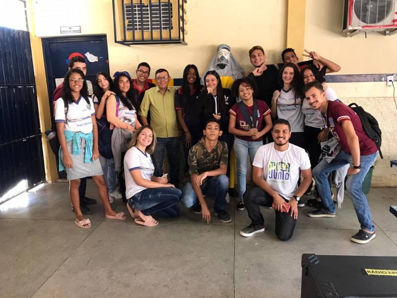 Atividade Cuidado com os Agrotóxicos. Escola Estadual Humberto Soares. Petrolina-PE.27/09/2019.
