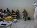 Cuidados e preservação das abelhas. Escola Guiomar Lustosa. Juazeiro-BA. 23/08/2017.