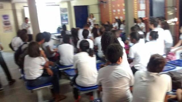 Atividades sobre o Perigo dos Agrotóxicos. Escola São José. Petrolina-PE. 14-10-2016