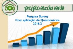 Pesquisa Survey - tabulação geral - 2016.2