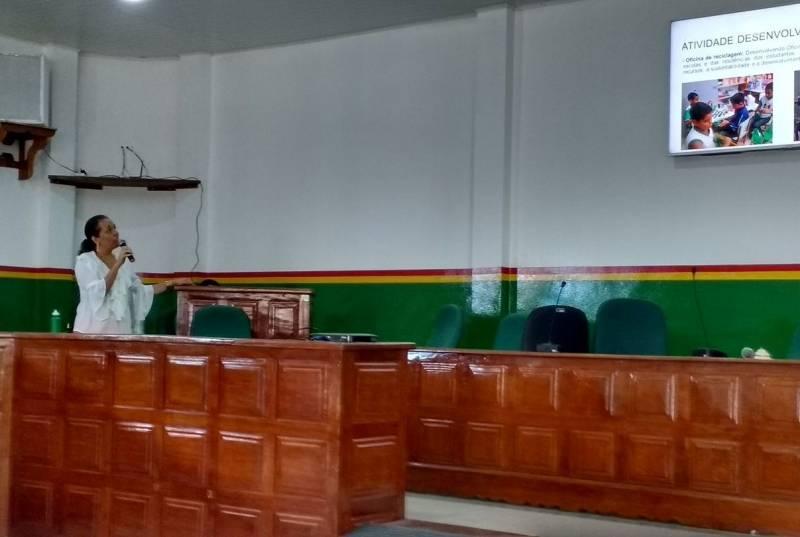 Apresentação do PEV. Câmara Municipal de Senhor do Bonfim (BA). 12/04/2017.