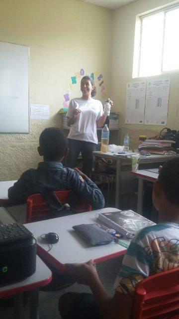 Atividade sobre preservacao ambiental e redução de resíduos sólidos - Escola Ludgero de Souza Costa - Juazeiro-BA - 24.02.16