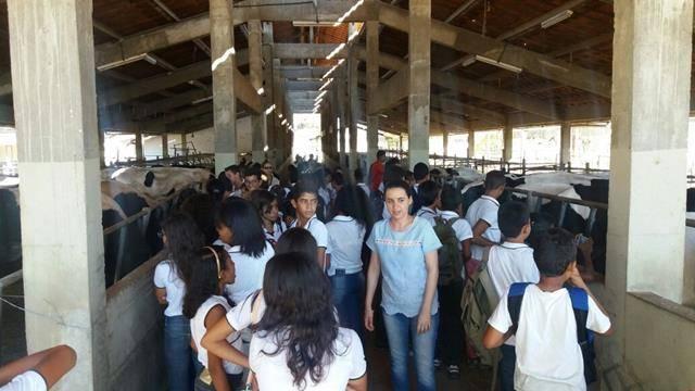 Visita Técnica ao CCA-Univasf-Petrolina. Escola 24 de Fevereiro. Sobradinho-BA. 10-08-2016