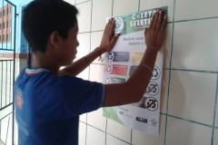 PEV promove coleta seletiva em escolas