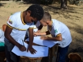 As cerca de 50 crianças pintaram, fizeram passeata e refletiram mais sobre o meio ambiente. Atividade foi em São Raimundo Nonato (PI).