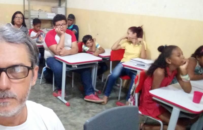 Atividades sobre Recursos Hídricos. Escola Luis Cursino.Juazeiro-BA. 06/06/2017