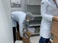 Produção de álcool 70% e em gel. Laboratório Farmacotécnico. UNIVASF. Petrolina-PE. Novembro de 2020.