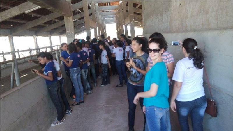 Visita técnica ao CCA-UNIVASF - Escola Pedro Raimundo Pereira Rêgo - Juazeiro-BA - 24.09.15