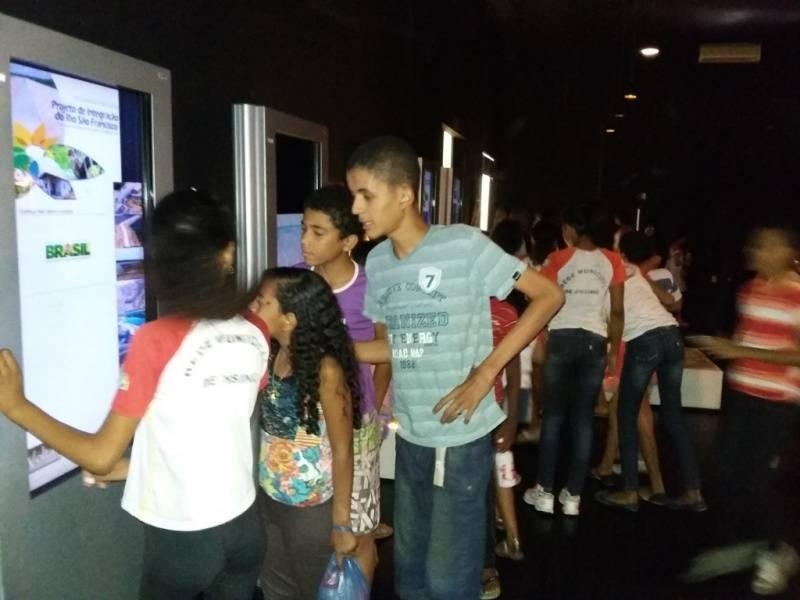 Visita técnica ao Cemafauna-Univasf CCA - Escola Joca de Souza - Juazeiro-BA - 11.09.15