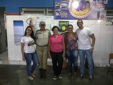 Atividades de Ambientalização. Colégio da Polícia Militar (CPM). Juazeiro-BA. 30-09-2016