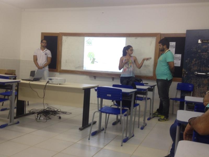 Atividade de ambientalização - Colégio Agostinho Muniz - Juazeiro-BA - 10.10.15