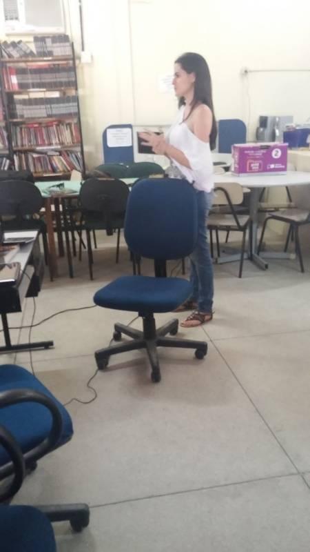 Atividade de ambientalização - Colégio Estadual Dr. Pacífico da Luz - Petrolina-PE - 05.10.15