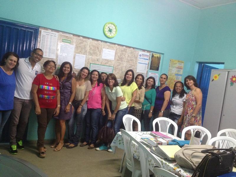 Atividade de ambientalização - Colégio Lomanto Júnior - Juazeiro-BA - 21.10.15