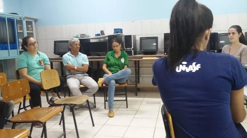 Atividade de ambientalização - Escola Antonilio da França Cardoso - Juazeiro-BA - 06.10.15