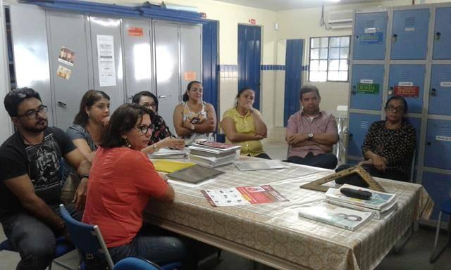 Ambientalização. Escola N11. Petrolina-PE. 20-05-2016
