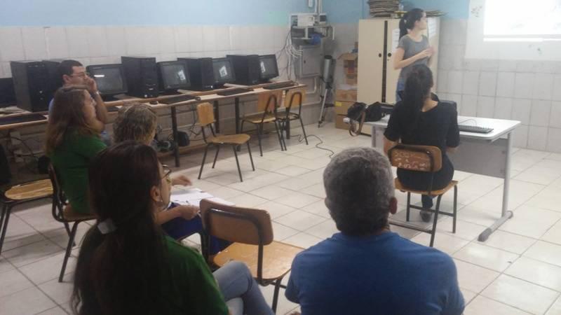 Atividade de ambientalização - Colégio Antonilio da França Cardoso - Juazeiro-BA - 01.10.15