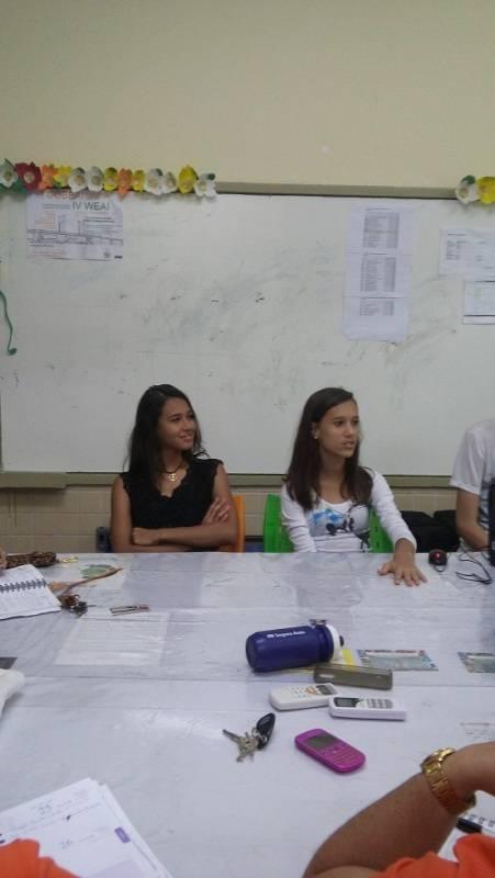 Atividade de ambientalização - EREM Jornalista João Ferreira Gomes - Petrolina-PE - 01.10.15