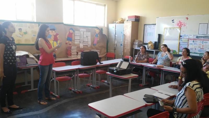 Atividade de ambientalização - Escola Ludgero de Souza Costa - Juazeiro-BA - 29.09.15