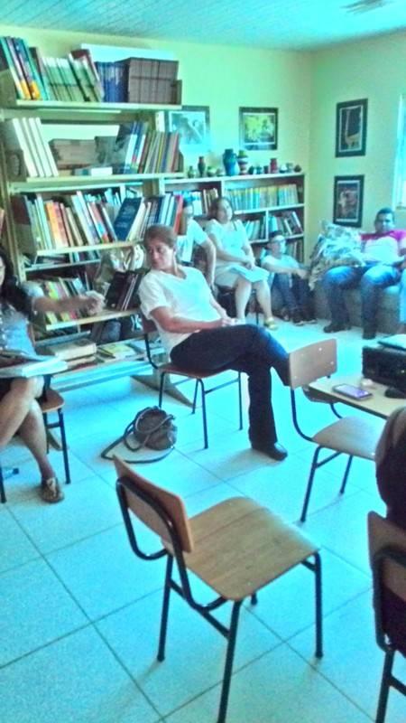 Atividade de apresentação do PEV e ambientalização - EMAAF Marechal Antônio Alves Filho - Petrolina-PE - 30.09.15