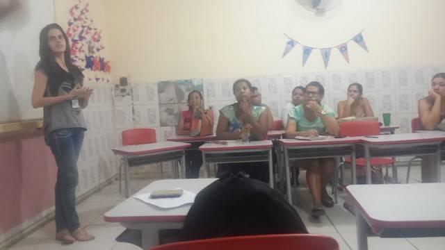 Atividade de Ambientalização - Escola Clementino Coelho - Petrolina-PE - 04.03.16