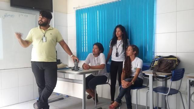 Atividade de Ambientalização - Escola Professora Iracema Pereira - Petrolina-PE - 09.03.16