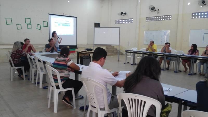 Atividade de ambientalização - Escola Estadual Eduardo Coelho - Petrolina-PE - 31.07.15
