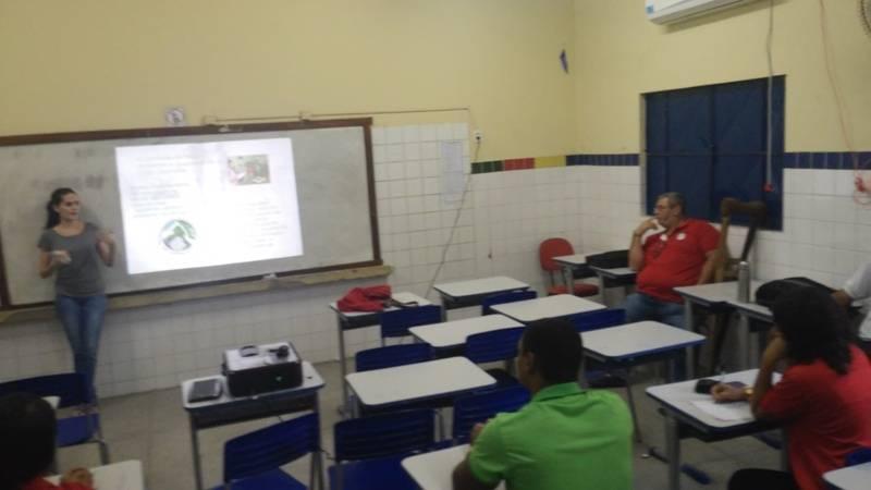 Atividade de ambientalização - Escola Estadual Professor Simão Amorim Durando - Petrolina-PE - 20.08.15