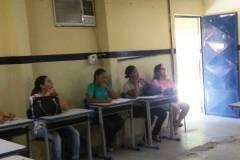 Professores e gestores sensibilizados com Ambientalização do PEV