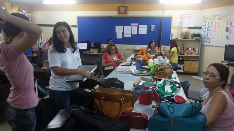 Atividade de ambientalização - Escola Joaquim André Cavalcanti - Petrolina-PE - 12.11.15