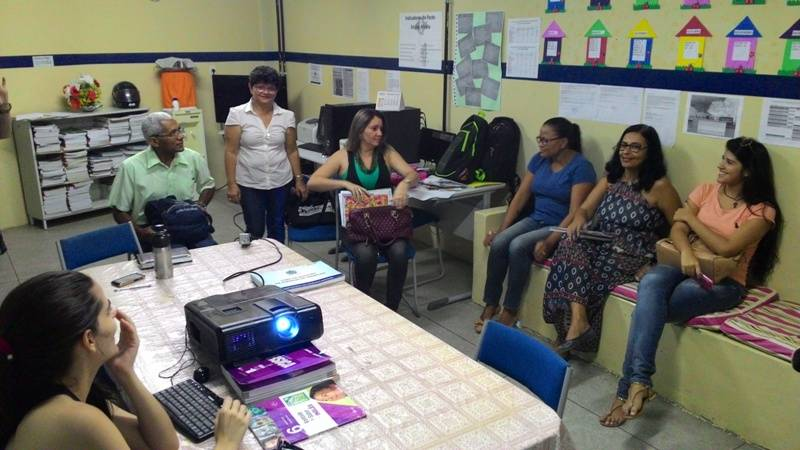 Atividade de ambientalização - Escola Pe. Luiz Cassiano - Petrolina-PE - 26.11.15