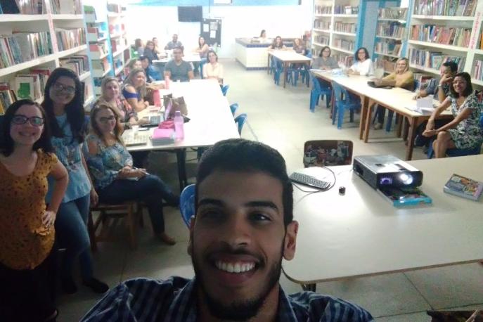 Atividades de Ambientalização. Escola Otacílio Nunes de Souza. Petrolina-PE. 31/07/2017.