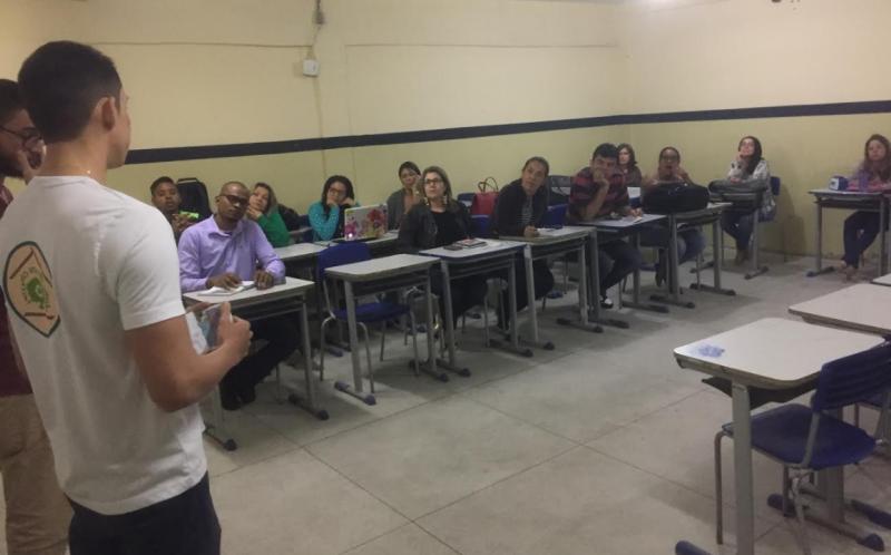 Atividades de Ambientalização. Escola Pe Luis Cassiano. Petrolina-PE. 14/09/2017.