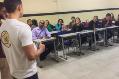 Professores são sensibilizados para Ambientalização de Escola