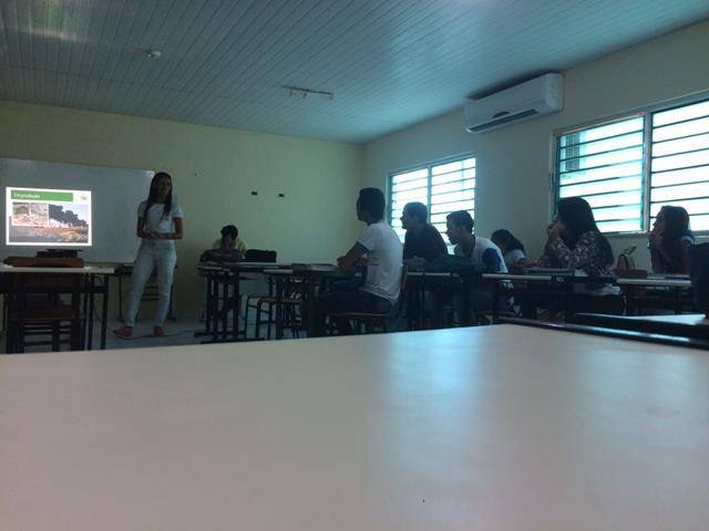 Promoção da Coleta Seletiva. Escola Marechal Antonio Alves Filho (EMMAF). Petrolina-PE. 20-05-2016