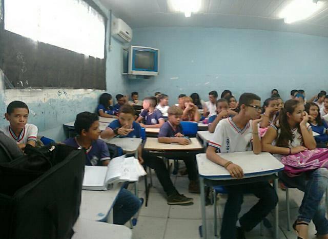 Promoção da Coleta Seletiva. Escola Antonilio de França Cardoso. Juazeiro-BA. 08-06-2016 (1)