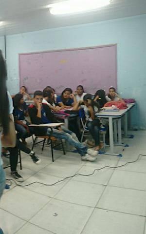 Promoção da Coleta Seletiva. Escola Antonilio de França Cardoso. Juazeiro-BA. 08-06-2016 (2)