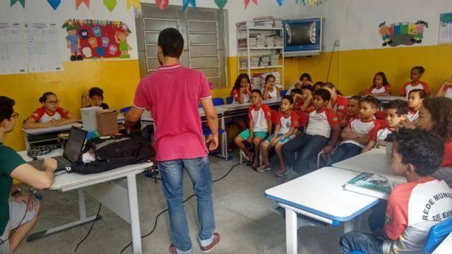 Promoção da Coleta Seletiva. Escola Nossa Senhora das Grotas. Juazeiro-BA. 16-06-2016