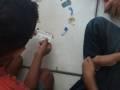 Atividade Compostagem. Escola Municipal Joca de Souza Oliveira. Juazeiro-BA. 18/11/2019.