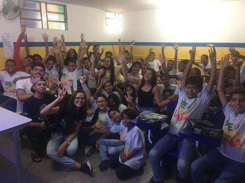 Atividade Saúde Ambiental. Escola Municipal Ariano Suassuna. Petrolina-PE. 08/11/2019.