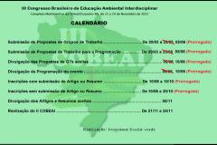 PRORROGADAS INSCRIÇÕES DE PROPOSTAS DE TRABALHO PARA O III COBEAI