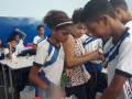 Atividade Reciclagem. Colégio Estadual Hildete Lomanto. Juazeiro-BA. 14/11/2019.
